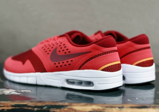 51b5da4f9f0b Nike SB Koston 2 Max - Red Clay - Team Red - Atomic Mango - SneakerNews.com