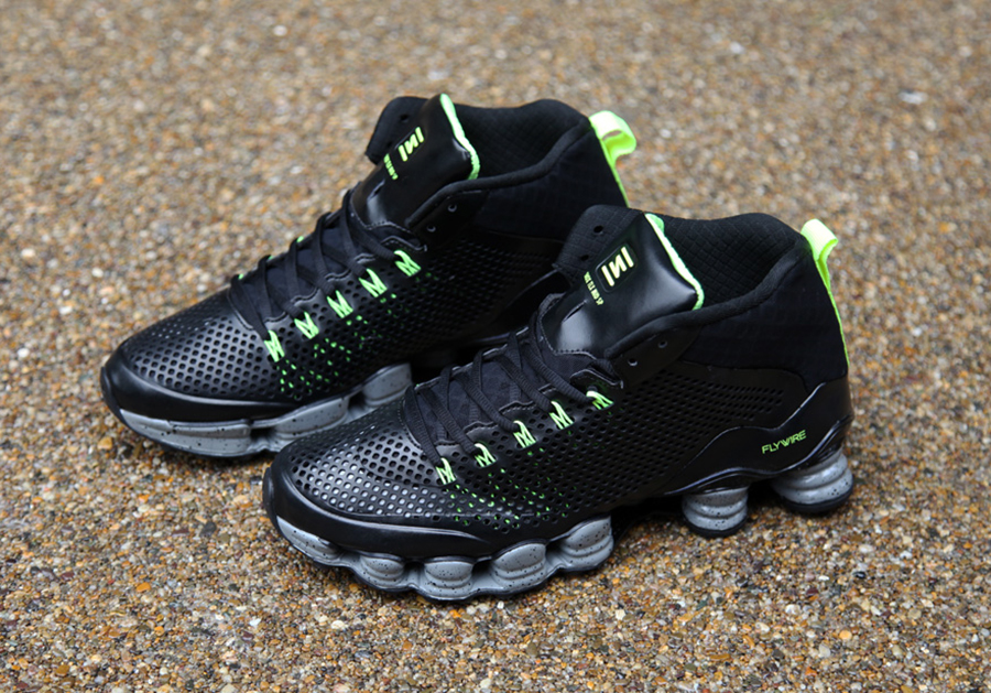 check out 00cd0 5160f Nike Shox TLX Mid SP - Black - Volt - SneakerNews.com