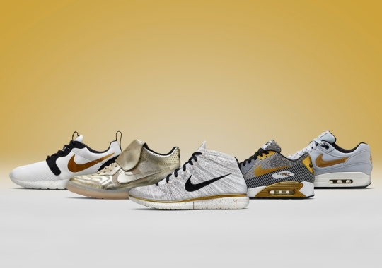 "Nike Sportswear ""Gold Hypervenom"" Collection"