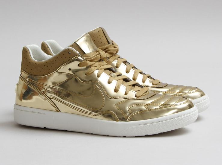 Nike Sneaker MID Special Metallic LIQUID GOLD NSW TIEMPO 94 Gr. 425 NEU