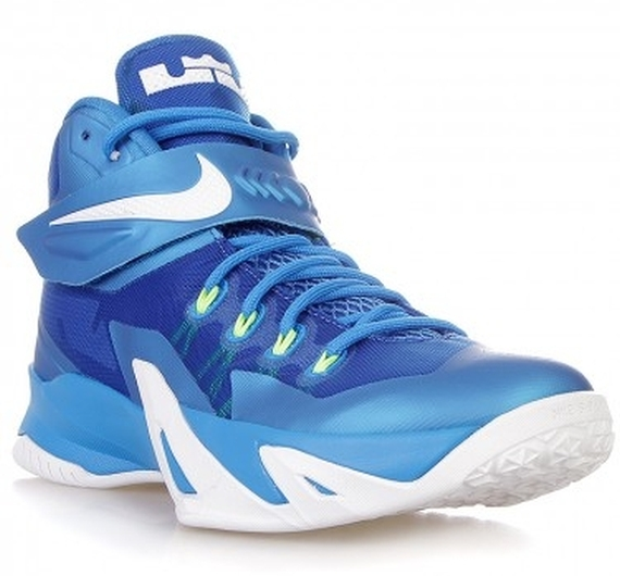 newest abfd7 e044d Nike Zoom Soldier VIII Color  Photo Blue White-Volt-Hyper-Cobalt Style  Code  653641-417. Release Date  07 05 14. Price   130