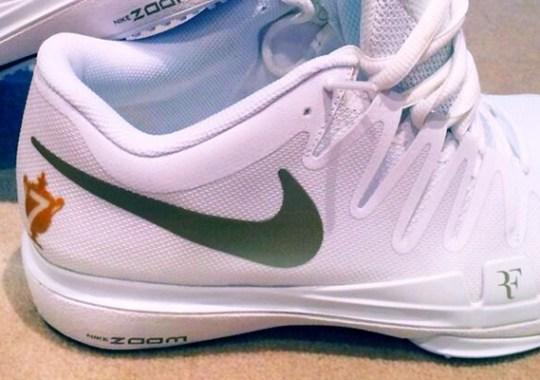 Roger Federer's Nike Zoom Vapor Tour 9.5 for Wimbledon