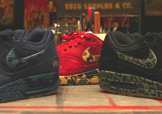 SBTG's Nike Air Max 1 Customs for Air Max Day