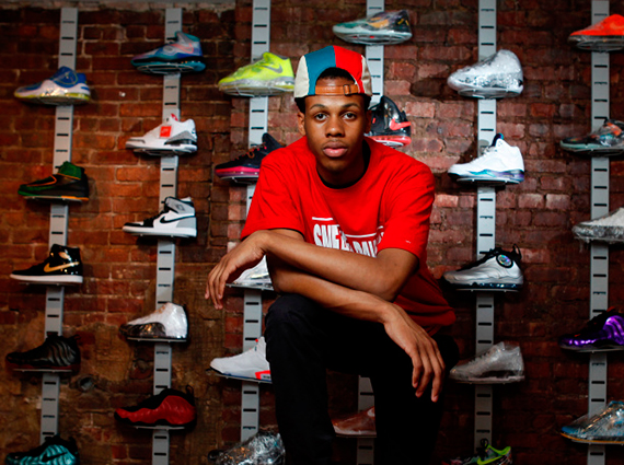 A Teenager Opens A Sneaker Pawn Shop in