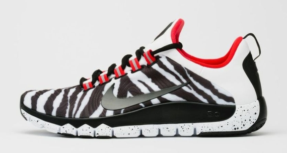 meet 17fef 1b9e5 Nike Free Trainer 5.0 NRG Color  White Black-Challenge Red Style Code   658119-106. Release Date  06 04 14. Price   110