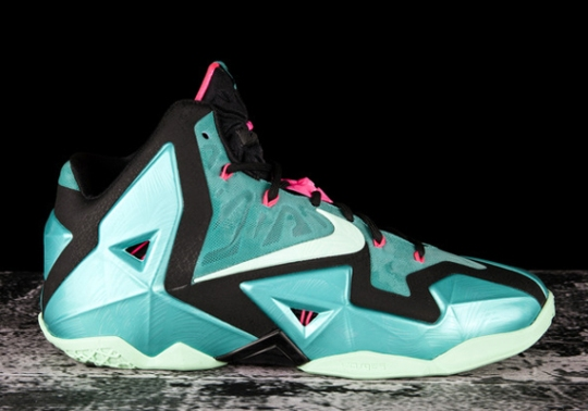 "Nike LeBron 11 ""South Beach"" – Release Reminder"