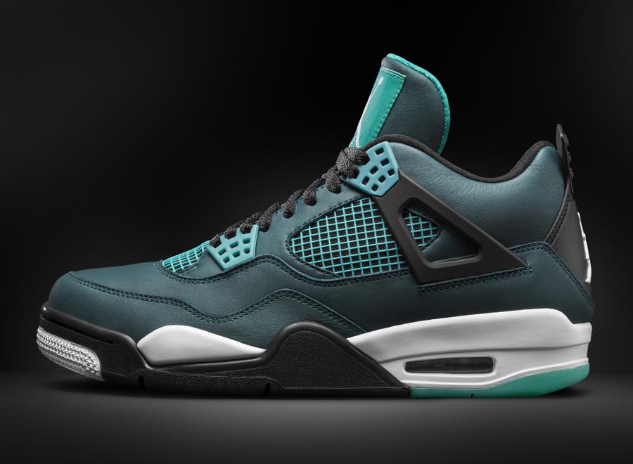 """Air Jordan 4 """"Teal"""" - SneakerNews.com Jordan 11 Low Cool Grey 2014"""