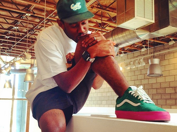 tyler the creator previews upcoming vans syndicate