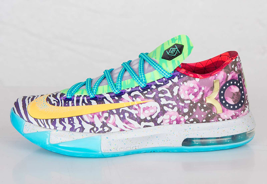 "Nike ""What The KD 6"" - Euro Release Date - SneakerNews.comWhat The Kd Release Date"
