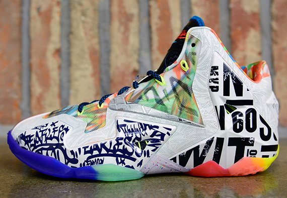 Nike quot What The LeBron 11quot Arriving At Global Retailers