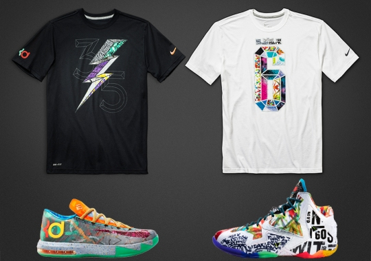 "Nike Basketball ""What The"" T-Shirts"