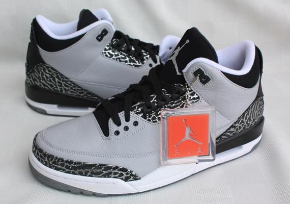 A Detailed Look At The Air Jordan 3 Retro Wolf Grey