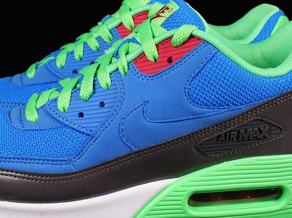 freno Charles Keasing consumidor  Nike Air Max 90 Essential - Photo Blue - Poison Green - SneakerNews.com