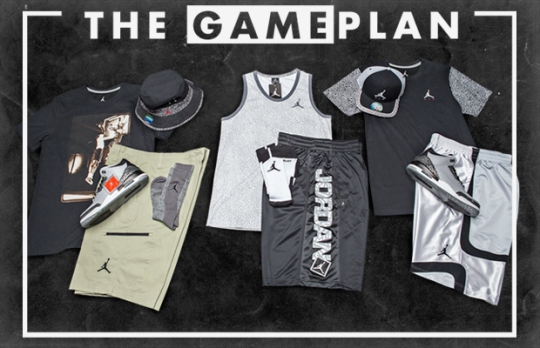 """The Game Plan"" by Champs Sports: The Wolf Grey Collection"