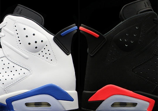 Sport Blue vs. Infrared: Which Air Jordan 6 Are You Looking Forward To?