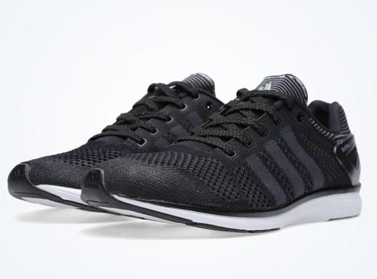 adidas adiZero Feather Primeknit – Black – White