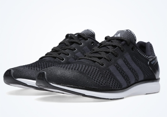 adidas adiZero Feather Primeknit – Black – White