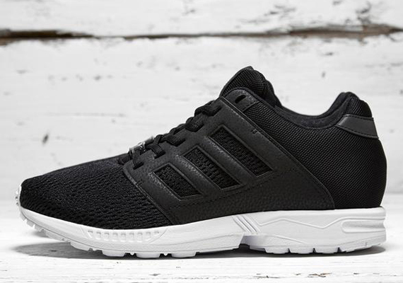 brand new f7dcd 1d0d1 adidas Originals ZX Flux 2.0 – Black – White