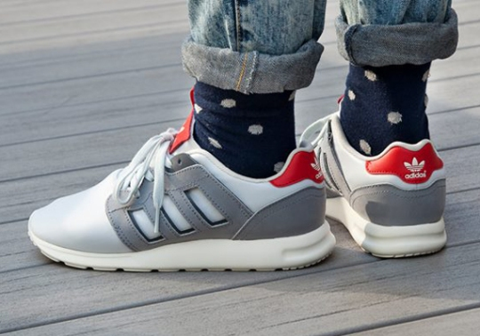 adidas ZX 500 2.0 – Aluminum – Red – White – Onix