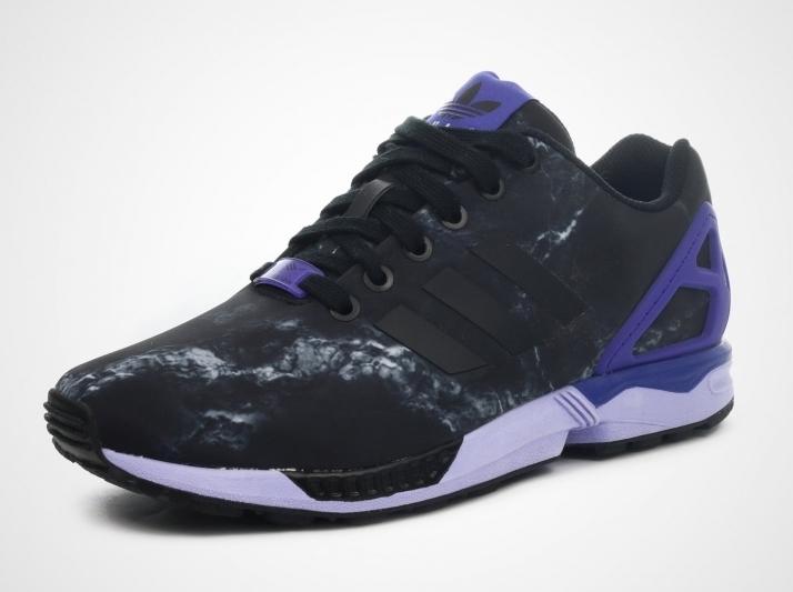 adidas ZX Flux - Black - Purple
