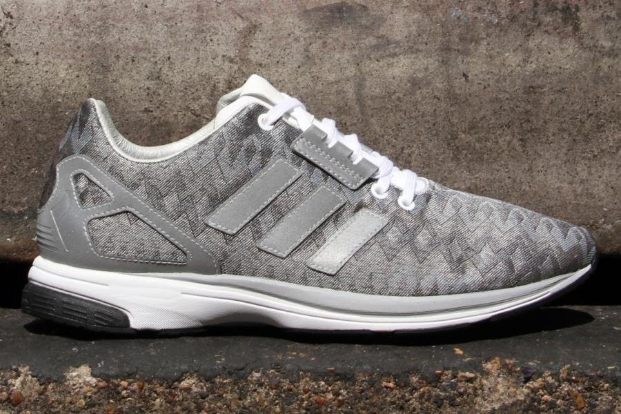 Adidas Zx Flux Zero Metallic Silver Sneakernews Com
