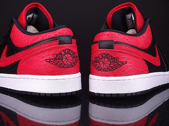 f2ba4a5dc34 Air Jordan 1 Low Color  Black Gym Red-White Style Code  553558-013. show  comments
