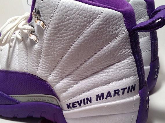 "new styles 9cd83 f1bf6 Air Jordan 12 – Kevin Martin ""Kings"" PE on eBay"