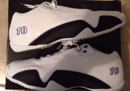"""Air Jordan 21 Low """"Kings"""" PE for Mike Bibby – Available on eBay"""