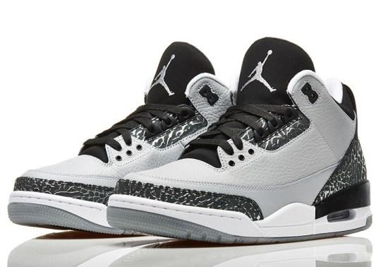 "Air Jordan 3 ""Wolf Grey"" – Nikestore Release Info"