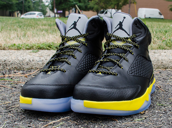 a031697f283 Air Jordan Future Flight Remix - Wolf Grey - Vibrant Yellow - Black ...