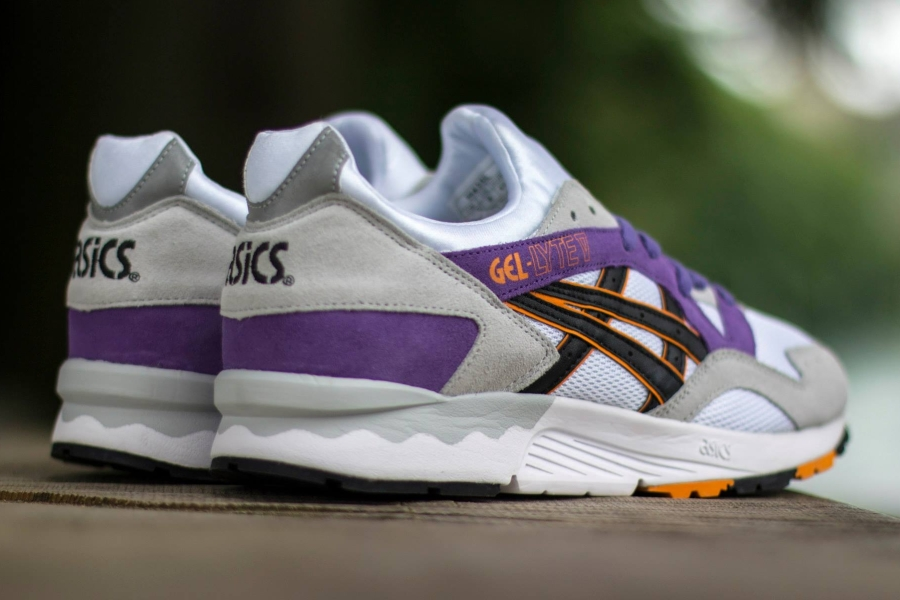 asics gel lyte 5 purple orange
