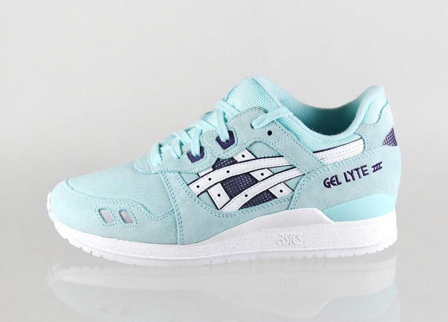 classic fit 63330 25aeb free shipping light blue asics gel lyte iii 21e69 2b60f