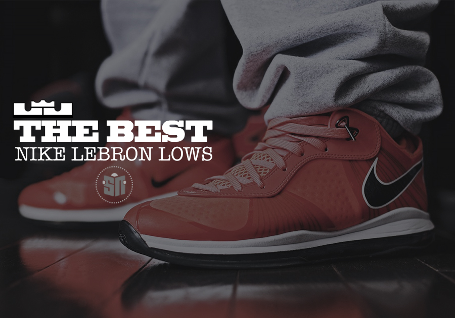 15f87e75f8d Classics On The Low  The 10 Best Low-Top LeBrons - SneakerNews.com
