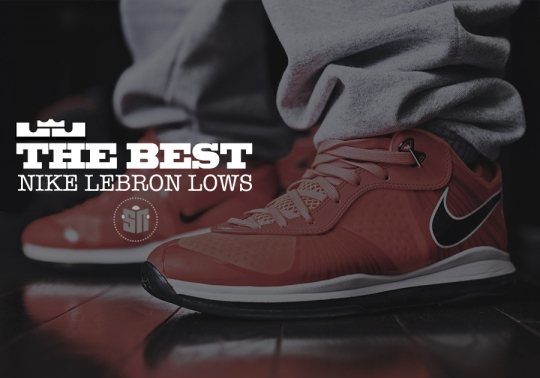 Classics On The Low? The 10 Best Low-Top LeBrons