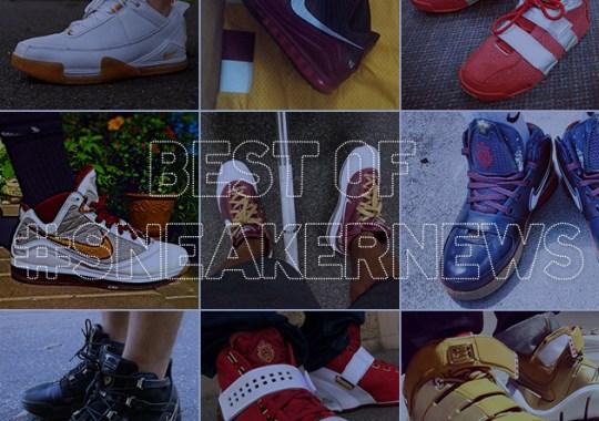 Best of #SneakerNews – Cleveland Era Nike LeBrons