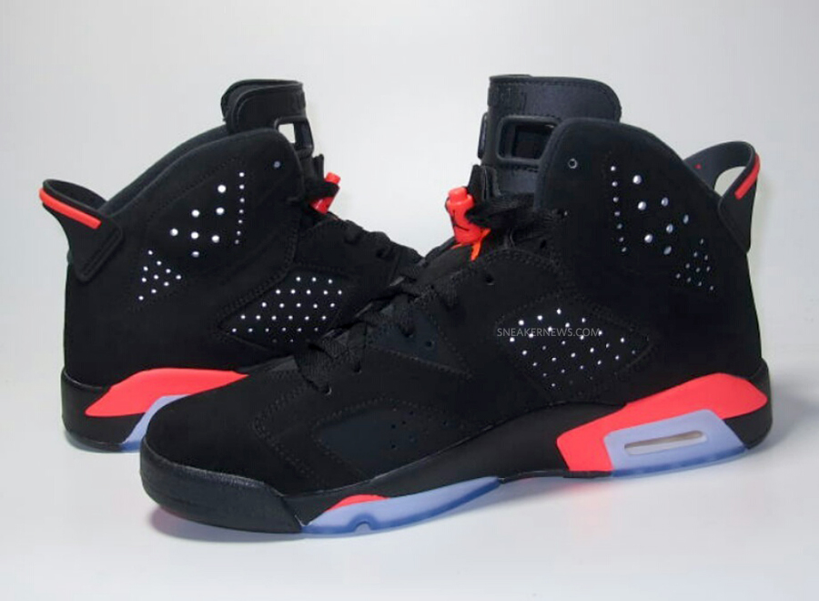 air jordan black infrared 6 price