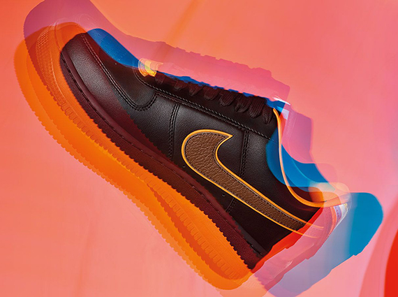 super popular f6320 7284a The black Riccardo Tisci x Nike Air Force 1 RT collection will release on  July 17th, 2014. The sneakers have moved around quite a bit in terms of  release ...