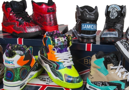 Sneaker Con Ace of Customs x British Knights Challenge