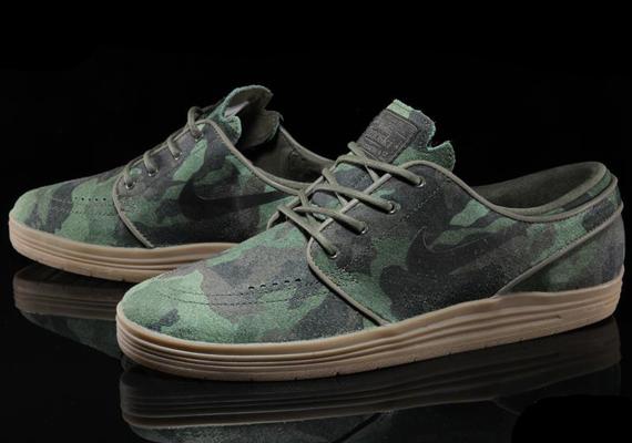 Nike Stefan Janoski Camouflage