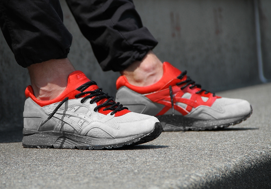 asics gel lyte v beige red