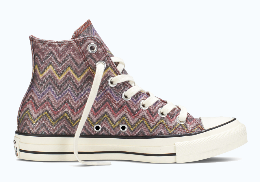 f087ea4f39b2 Advertisement. Missoni s enduring zigzags will once again show up on the Converse  Chuck Taylor All-Star ...