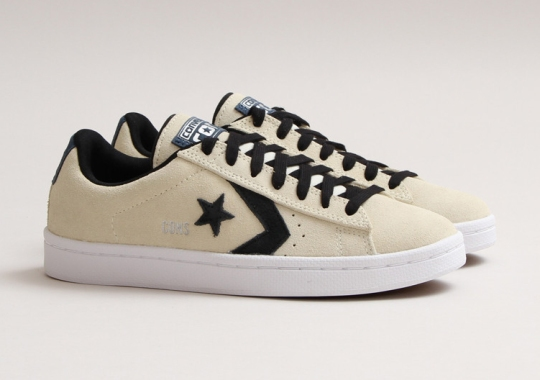Converse Pro Leather OX – Natural – Moon
