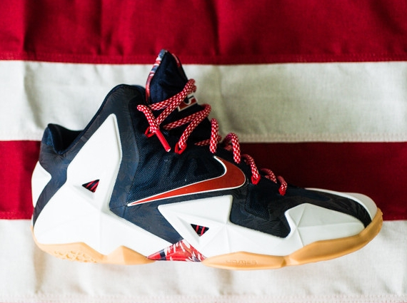 "Nike LeBron 11 ""Independence Day"" - Release Reminder ..."