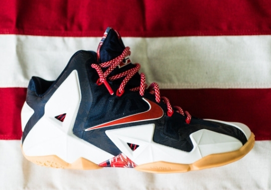 "Nike LeBron 11 ""Independence Day"" – Release Reminder"