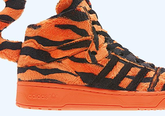 adidas originals x jeremy scott – leopard tail sneaker