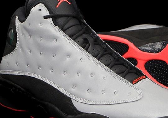 "Air Jordan 13 ""Reflective"" – Release Date"