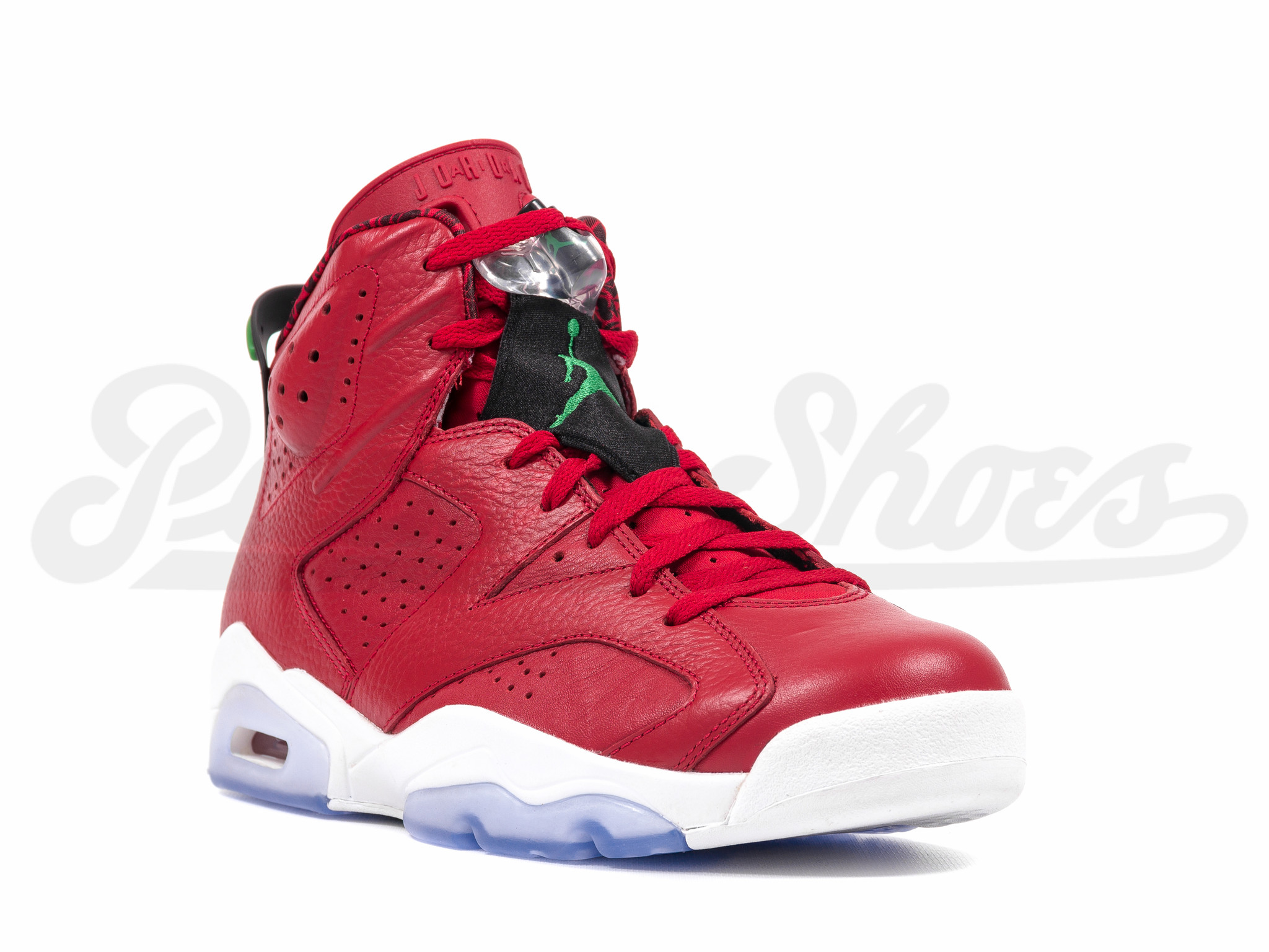 "d559afdefc5 Air Jordan 6 ""History of Jordan"" Color  Varsity Red Classic  Green-Black-White Style Code  694091-625. Release Date  08 09 14. Price    170"