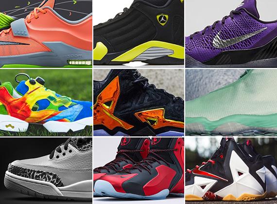 July 2014 Sneaker Releases