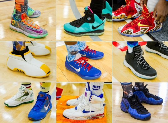 Sneaker Heat at the First Kick & Roll Classic in Austin, TX