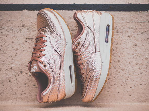 "Nike Womens Air Max 1 Cut Out ""Metallic Bronze"" - Available"